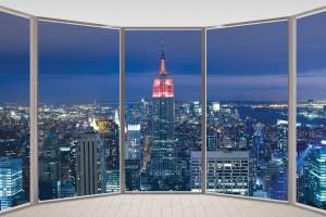 Фототапети 3D Прозорци