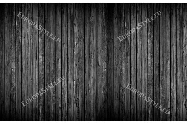 Фототапети черно дърво редени греди