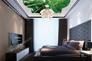 класическа рамка с орнаменти за таван бамбук