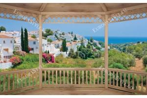 Фототапети тераса гледка от красива Испания