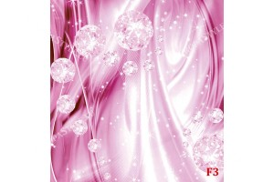 Фототапети 3d абстрактни диаманти в розово