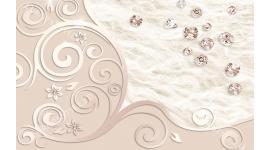 орнаменти с разпръснати диаманти
