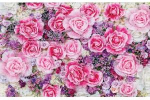 Фототапети прекрасен букет от рози и други цветя
