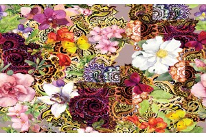 Шарени цветя