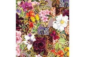 Фототапети арт флорална рисувана композиция