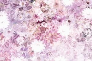 Фототапет феерия от шарени цветя