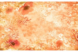 дизайнерски микс цветя и орнаменти в 2 варианта