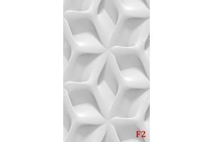 Фототапет 3D геометрични форми бяла стена