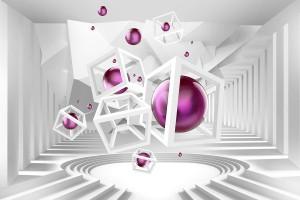 Фототапети 3D модерни абстрактни