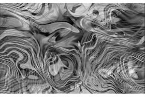 Фототапети модерни релефни извивки в 2 цвята