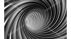 Фототапет сива спирала 2