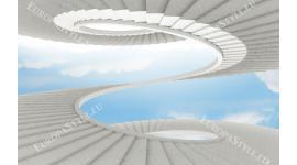 Фототапет ефектни стълби и небе