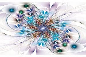 Фототапети абстракция многоцветна 2
