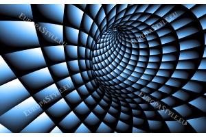 Фототапети 3д тунел спирала в 2 цвята