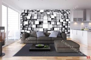 Фототапети 3D геометрични кубове 1