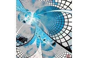 Фототапет Абстрактна спирала 3д ефект в два варианта