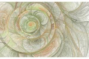 нежна спирала тип охлюв в 2 цвята