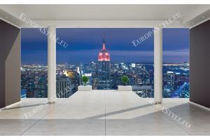 Фототапет изглед стая Ню Йорк 3д ефект