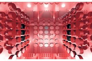 Фототапети 3д ефект модерна абстракция в 3 цвята