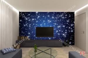 Фототапет звездно небе с много звезди