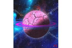 Фототапет космос звезди розова планета