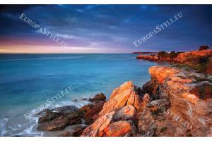 Фототапети скалист морски бряг
