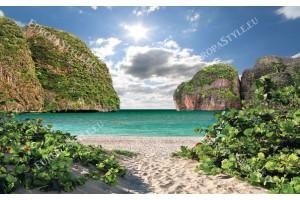 Фототапети красива гледка морски бряг