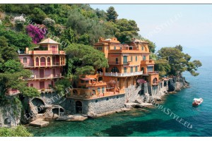 Фототапети средиземноморски вили на склон