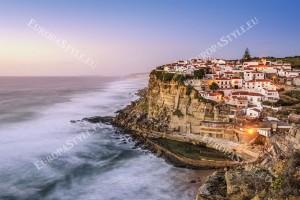 Фототапети морски изглед крайбрежие град Синтра