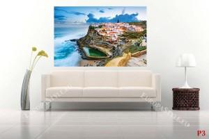 морски изглед от Синтра Португалия