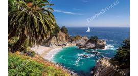 Фототапети прекрасен морски пейзаж залив и скали