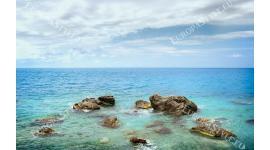 Фототапети семпъл изглед морска панорама хоризонт