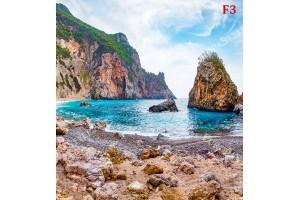 Фототапети морски залив със скали модел 2