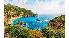 Фототапет уникално красив морски залив от гръцки остров