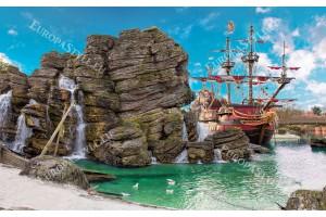 Фототапет пиратски стар кораб
