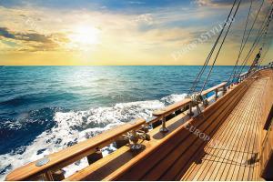 уникална морска гледка от борда на кораб