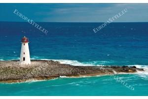 Фототапет морски фар изглед