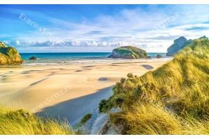 Фототапети слънчеви пясъчни дюни море 2