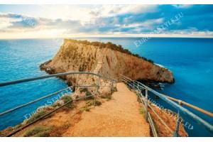 Фототапети пътека към остров в море