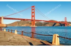 Фототапети дневен изглед на моста в Сан Франциско 2