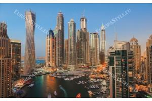 Фототапети дневен изглед на небостъргачи в Дубай