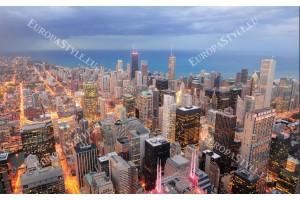 Фототапети урбанистична гледка с високи сгради