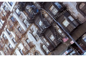 стара сграда в Ню Йорк американски стил