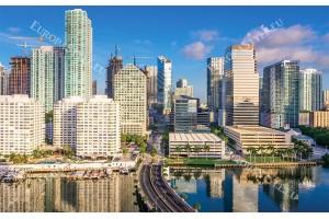 Фототапет прекрасен градски изглед от Флорида