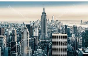 Фототапети дневен изглед в 2 нюансa на Ню Йорк Манхатън