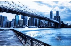 Фототапет панорамен изглед на Ню Йорк в 4 разцветки
