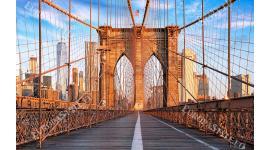 Фототапети гледка преден план от моста Бруклин