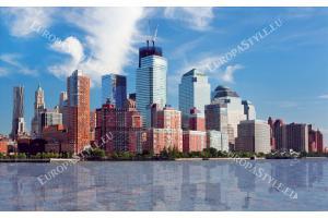 Фототапет панорамен пристанищен град
