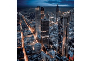 Фототапет нощен град в светлини в 2 варианта