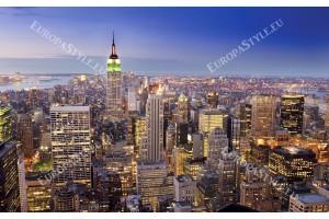 Фототапет градски изглед на кула в Ню Йорк